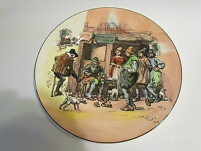 Royal Doulton Vintage Plate The Cobbler 10 1/2 inches