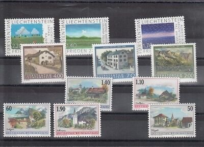 92881 / Liechtenstein ** MNH Lot