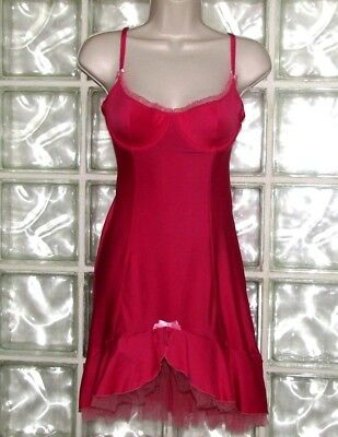 Victoria's Secret Sexy Little Things Pink Baby Doll Lingerie Camisole Bra 36B