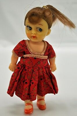 6.5 inch ponytail doll made in Japan.