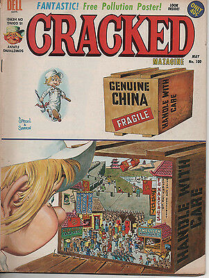 Cracked 100 May 1972 Dell Bronze Age Mad rip-off 5.0 VG/FN