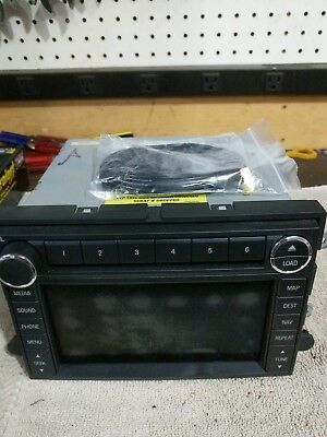Factory Oem Ford F-150 F-250 Explorer Cd Dvd Gps Sync 1 Navigation Radio Upgrade