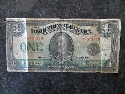 Canada Dominion 1.00 Note 2 Jul 1923 (#2)