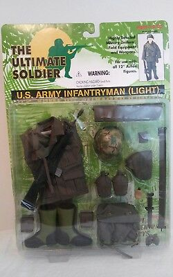 The Ultimate Soldier 1/6 US Army Infantryman Light Accessory Pack Uniform nip