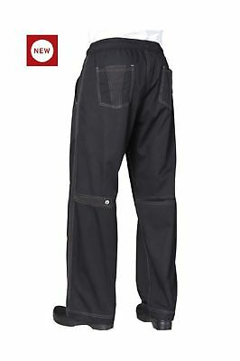 Chef Works Cool Vent Baggy Pants Black Medium