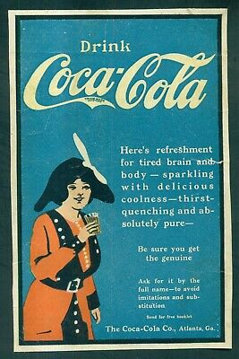1890's Drink Coca-Cola Advertising Flier/Print
