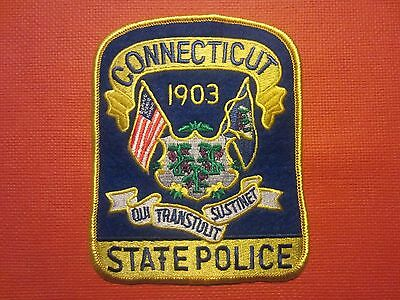 Collectible Connecticut State Police Patch NEW