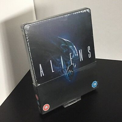 Aliens Steelbook Blu-Ray Zavvi Exclusive UK Release Brand New & Sealed OOP!
