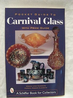Pocket Guide To Carnival Glass With Price Guide Pb Book By Clements