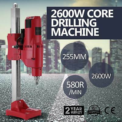 "Drilling Press Machine Driller Unit 255MM 10"" Feed Crank Rig Motor Protection"