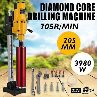 205MM Driller Drilling Press Machine 8 Holes Machine Fireproof Materials 3980W
