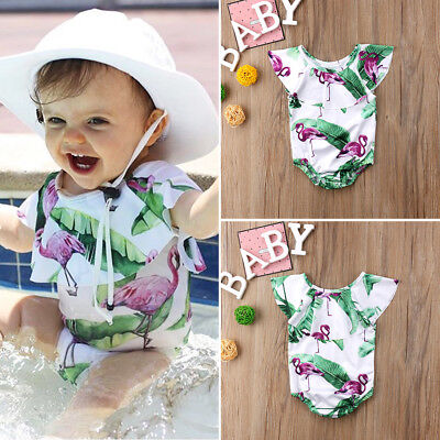 AU Stock Cute Toddler Kids Baby Girl Swimsuit Swimwear Bikini Bathing Beachwear
