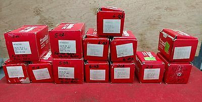 Lot of 14 Sets Reed-Rico Astro Punch Thread Roller Threading Dies Salvo ReedRico