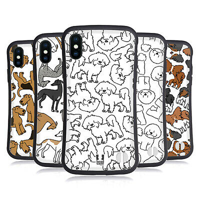 HEAD CASE DESIGNS DOG BREED PATTERNS 4 HYBRID CASE FOR APPLE iPHONES PHONES