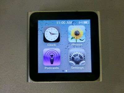 Apple iPod nano A1366 MC525LL (6th gen) 8GB silver