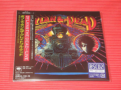 2014 BOB DYLAN & THE GRATEFUL DEAD LIVE   JAPAN MINI LP BSCD2  Blu-spec CD 2
