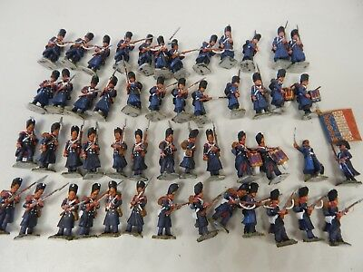 28mm French Guard plastic painted. Figures by Victrix Miniatures