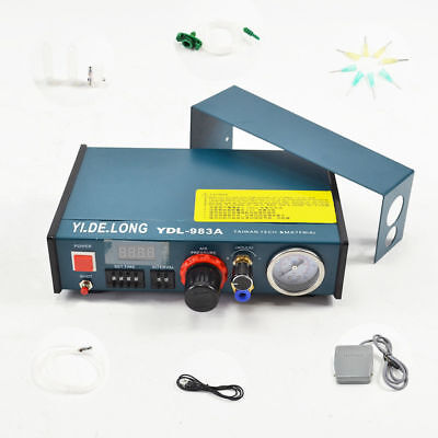 New Auto Controller Solder Paste Glue Dropper Liquid Dispenser 983A High Quality