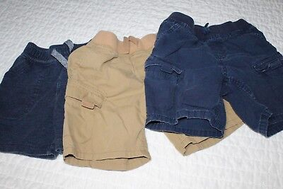 Cherokee Shorts for Boys Size 3T Casual & Cargo Style 3 Pair LOT