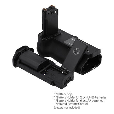 BG-E20 Battery Grip Replacement for Canon EOS 5D Mark Mark IV Camera + IR Remote