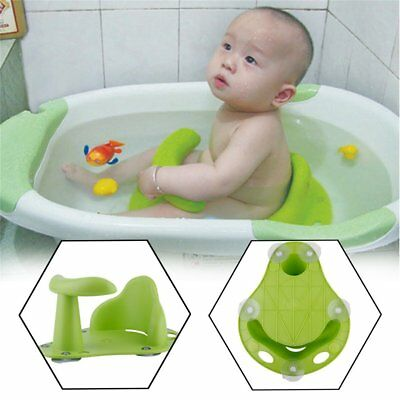Baby Infant Toddler Bath Seat Tub Bathing Support Anti Slip Safety Chair Pad 2'