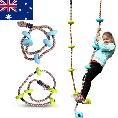 AU! Outdoor Swing Playground Play Equipment Accessories Climbing Rope Swing Toys