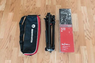 Manfrotto BeFree MVKBFR-LIVEUS Tripod with Video Fluid Head