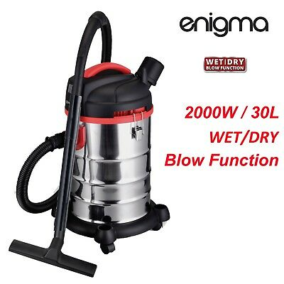 New 2000W 30L Wet & Dry Vacuum Cleaner and Blower Industrial bagless free post