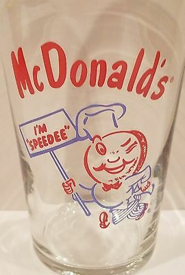 Vintage Rare The Original McDonald's Glass