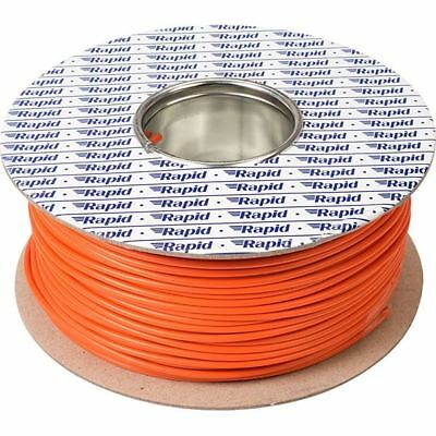 32/0.2 Multi Strand Equipment Wire Circuit Hookup Linking Cable Orange Per 5mtrs