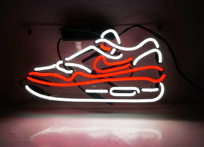 New Sneakers Nike Sport Acrylic Back  Lamp Light Neon Sign 14''x10''
