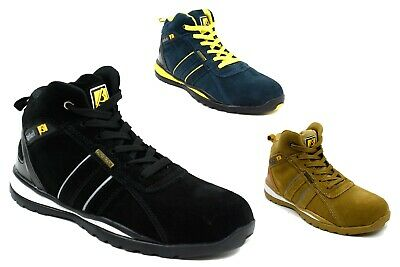 New Men Safety Light Weight Cushioned Lace Up Boots UK Size 7-11