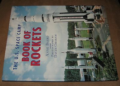Book of Rockets Buzz Aldrin Anne Baird David Graham Morrow offical US Space Camp