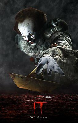IT 2017 MOVIE Pennywise Stephen King IT2018 A3 A4 POSTER PRINT BUY 2 GET 1 FREE