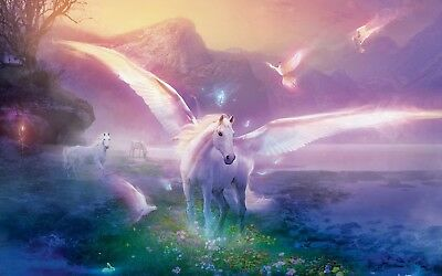 MAGICAL UNICORN Fantasy Horse MUHS01 A3 A4 POSTER PRINT BUY 2 GET 1 FREE