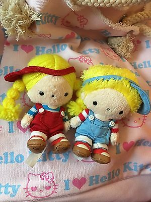 Patty And Jimmy Sanrio 50th Anniversary Plush Set Rare
