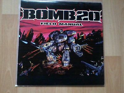 Bomb20 - Field Manual - Vinyl 2xLP - Germany 1998