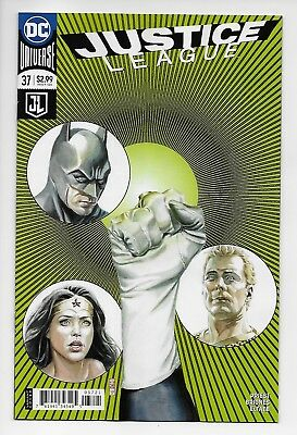 Justice League #37 - Rebirth Variant Cover (DC, 2018) - New/Unread (NM)