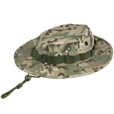 88f1b85f44d MFH GI Cappello Boonie Ripstop Cotone Combat Jungle Bush Militare Operation  Camo