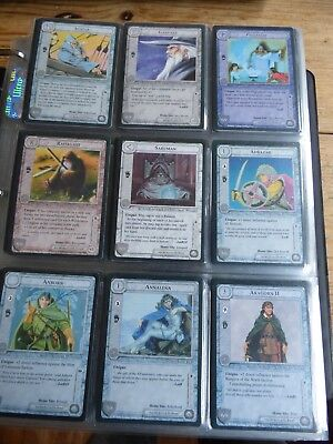Middle-earth CCG - The Wizards (black borders, no region cards) - Full set MECCG