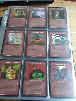 Middle-earth CCG - The Lidless Eye - Full set - MECCG