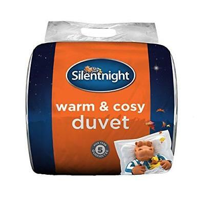NEW Silentnight Warm And Cosy 13.5 Tog Thick Winter Duvet King Size White Quilt