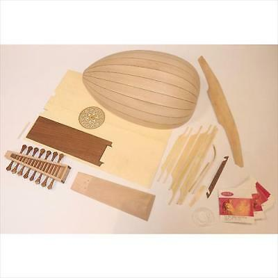 EMS Heritage 6 Course Lute Kit With Case - BUILD YOUR OWN! **NEW**
