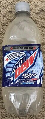 20oz Mountain Dew White Out Sealed Choose the next Dew Contest