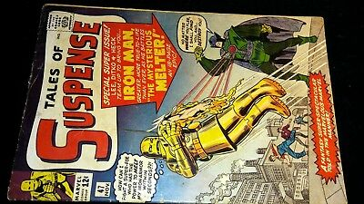 Tales Of Suspense #47 ~ Iron Man ~ 1St Melter ~ Vg/f ~ For $9.99??? Wow-Za!!!!