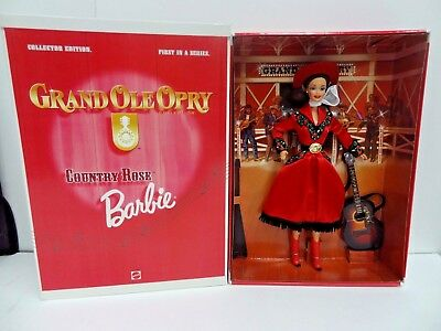 1997 Grand Ole Opry Collection Country Rose Barbie 17782 (First In A Series)