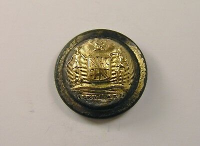 CIVIL WAR ERA STATE OF MARYLAND Staff Cuff Button Back Marked Extra Quality