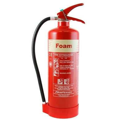 6ltr Foam Cartridge Operated Extinguisher - Thomas Glover