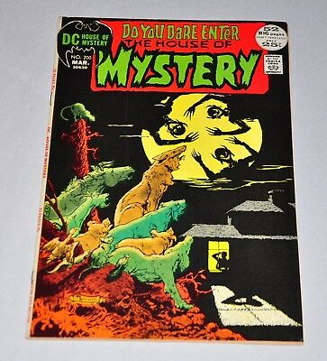 House Of Mystery 200 Bronze Age HIGH GRADE VF+
