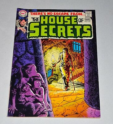 House Of Secrets 83 Bronze Age NICE Neal Adams Cover VF